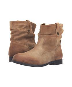 Birkenstock   Sarnia Waxed Suede Womens Boots