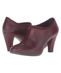 Anne Klein | Dalayne Wine/Wine Leather Womens Shoes