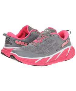 HOKA ONE ONE | Clifton 2 Neon Womens Running Shoes