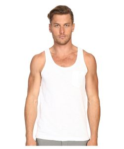 TODD SNYDER | Weathered Button Tank Top Mens Sleeveless