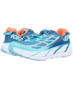 HOKA ONE ONE | Clifton 3 Jewel/Neon Coral Womens Shoes
