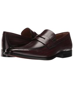 Florsheim | Sabato Penny Wine Hand-Brushed Mens Slip-On Dress Shoes