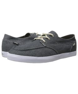 Reef | Deck Hand 2 Tx Charcoal/Charcoal Mens Lace Up Casual