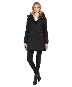 Spiewak | Flight Satin Snorkel Parka No Fur Spfow0065ffs03 Caviar Womens