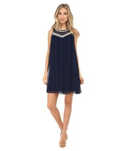 Shoshanna   Jezebel Dress Ink Womens Dress