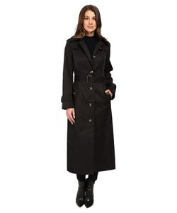 LONDON FOG   Belted Single Breasted Trench Coat Womens Coat