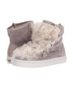 Kennel & Schmenger   Kennel Amp Schmenger Shearling Puff Sneaker Tundra Suede/Shearling Womens Shoes