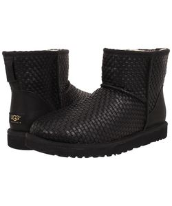 UGG Australia | Classic Mini Woven Leather Mens Pull-On Boots