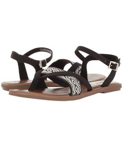 Toms | Lexie Sandal Canvas/Embroidery Womens Sandals