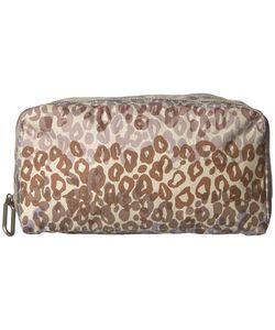 Lesportsac | Essential Cosmetic Case Cheetah Cascade Cosmetic Case