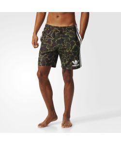 Adidas | Пляжные Шорты Camouflage Originals