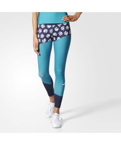 Adidas | Леггинсы Для Бега Printed By Stella Mccartney