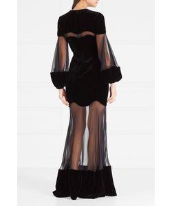 Alexander McQueen | Комбинированное Платье