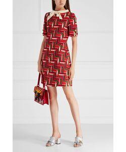 Gucci | Платье Из Шелка И Шерсти