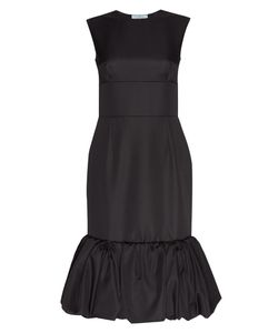 Prada | Платье Из Шерсти И Шелка