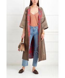 Asian Spirit | Шелковое Пальто Jahanzeb