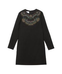 Valentino | Платье Из Шерсти И Шелка С Бирюзой