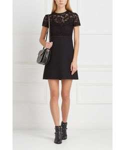 Valentino | Платье Из Шерсти И Шелка