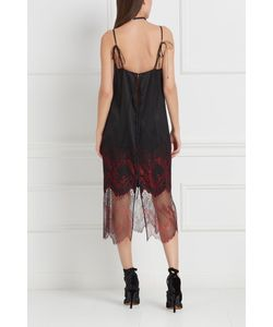 Esve | Шелковое Платье Рубин