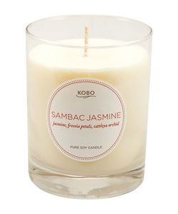 Kobo Candles | Ароматическая Свеча Sambac Jasmine 312Гр.