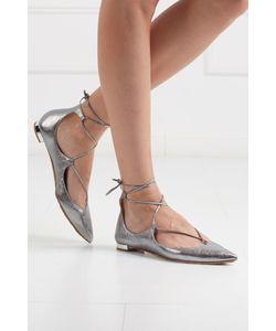 Aquazzura | Кожаные Туфли Christy Flat
