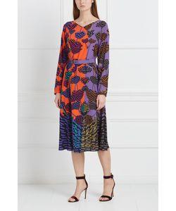 Chapurin | Шелковое Платье С Принтом