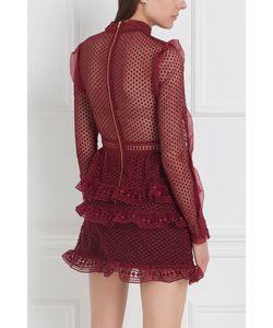 SELF-PORTRAIT | Кружевное Платье
