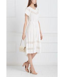 Zimmermann   Платье С Кружевом