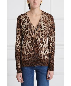 Dolce & Gabbana | Пуловер Из Кашемира И Шелка