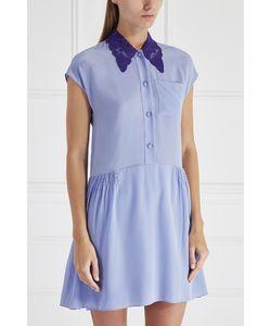Miu Miu | Шелковое Платье-Рубашка