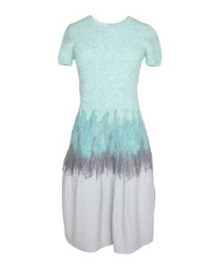NINA RICCI VINTAGE | Платье С Коротким Рукавом 2008 Г.