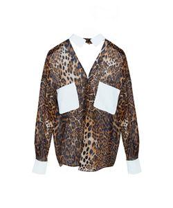 Tzipporah | Шелковая Блуза С Леопардовым Принтом