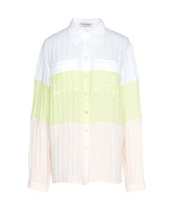 Tzipporah | Шелковая Трехцветная Блуза