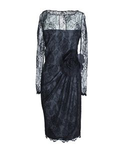 Bill Blass | Платье Из Кружева С Розой 80-Е Гг.