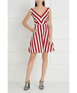 Red Valentino | Платье Из Хлопка И Шелка