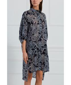 Acne | Комбинированное Платье-Рубашка