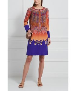 Etro | Шелковое Платье-Рубашка