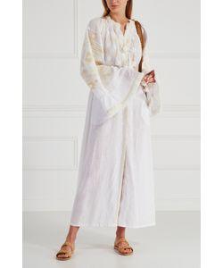 Vita Kin | Льняное Платье Kilim