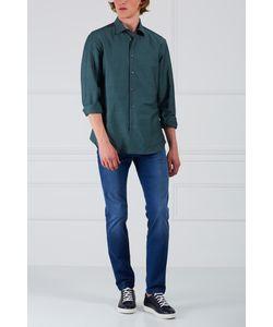 Brioni | Рубашка Из Хлопка И Льна