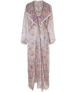 Christian Dior Vintage | Пеньюар С Цветочным Принтом 70-Е Гг.