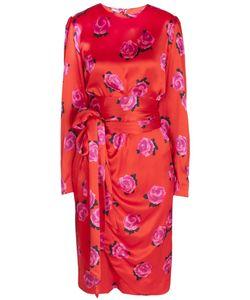 NINA RICCI VINTAGE | Шелковое Платье 70-Е
