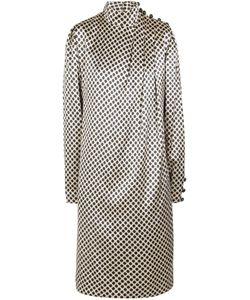 Albert Nipon | Шелковое Платье 80-Е
