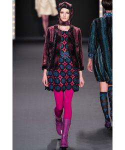 Anna Sui Vintage | Платье Из Искусственной Шерсти