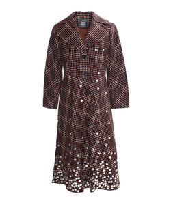 Libertine | Приталенное Пальто С Серебряными Пайетками
