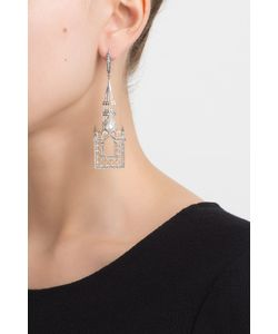 Axenoff Jewellery | Серебряные Серьги С Жемчугом И Голубыми Топазами Москва Слезам Не Верит