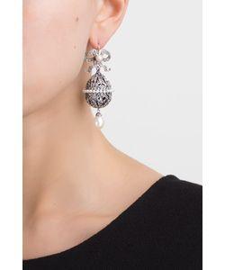Axenoff Jewellery | Серебряные Серьги С Жемчугом И Аметистами Пасхальные Яйца