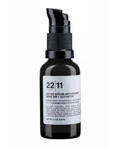 22/11 | Детокс Сыворотка Для Лица Detox Serum Antioxidant Gene Sir 1 Activator