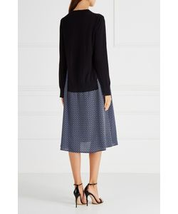 Stella Mccartney | Платье Из Шерсти И Шелка