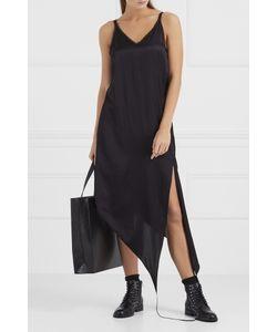 MM6 by Maison Margiela | Асимметричное Платье-Комбинация