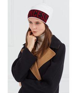 Dolce & Gabbana | Контрастная Шерстяная Шапка